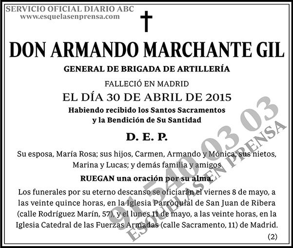 Armando Marchante Gil
